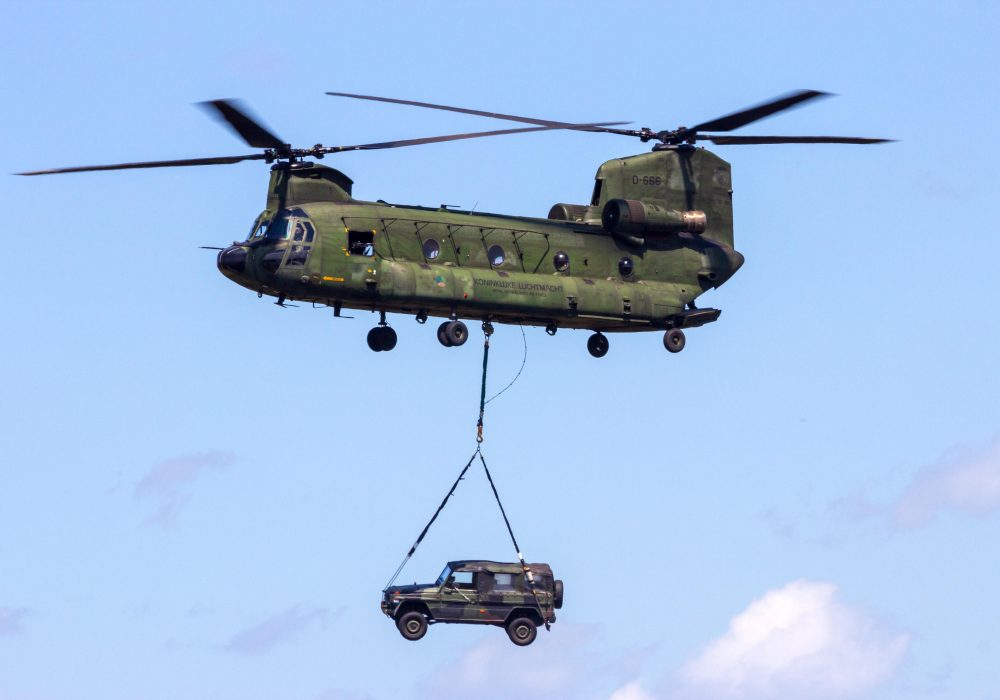 Royal Netherlands Air Force CH-47F Chinook